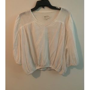 Current Elliot Cropped Blouse